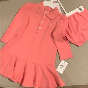 Brand new Ralph Lauren dress size 9 months